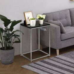 Square shaped Side Sofa Snack Table Coffee Tray End Table Living Room Furniture $22.95