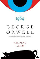 Animal Farm and 1984 by George Orwell English Hardcover Book Free Shipping $21.63