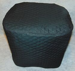 Black (or color choice) Quilted Fabric 3 Qt ~or~ 5.3 Qt Air Fryer Cover NEW