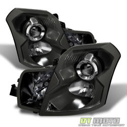 Black 2003-2007 Cadillac CTS Projector Headlights Replacement 03-07 Left+Right $154.99