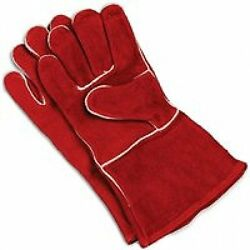 Bestselling Fireplace Genuine Cowhide Leather Gloves for Superior Protection