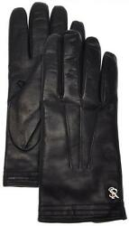 Stefano Ricci Gloves Handmade Leather Cashmere Lined Size 9 Blue 13GL0117 $745