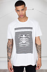 Official Phantogram Striped Face Unisex T-Shirt Voices Eyelid Movies Nightlife