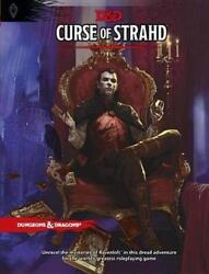 Curse of Strahd: A Dungeons amp; Dragons Sourcebook by Wizards RPG Team English H $35.99