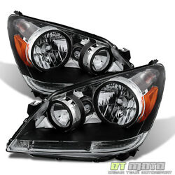 For 2005 2006 2007 Honda Odyssey Replacement Headlights Headlamps Left+Right $139.99