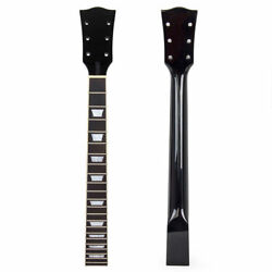 Electric Guitar Neck for Guitar Replacement Parts Maple 22 Fret Black $41.59