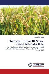 Characterization of Some Exotic Aromatic Rice by Seraj Shahjahan (English) Paper