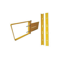 New CONDOR Yellow Steel Adjustable Safety Gate 17in to 18-12in 31TT66