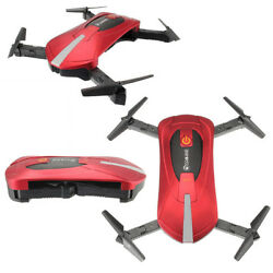Wi Fi FPV Foldable Remote Control Quadcopter Drone Flying Camera Toy iOS Android $64.87