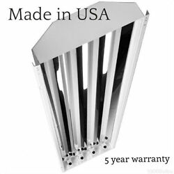 4 Lamp T5 LED High Bay 112 Watt Warehouse Shop BRIGHT Commercial Light NEW