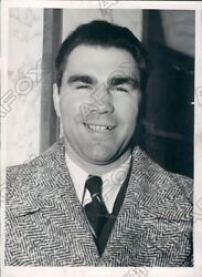 1939 German Boxing Champion Max Schmelling Arrived in the US Press Photo $18.88