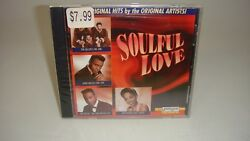 SOULFUL LOVE-ORIGINAL HITS CD--NEW--SEALED-JERRY BUTLERLENNY WELCHPLUS MORE