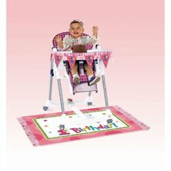 Amscan Hugs & Stitches Girl High Chair Decorating Kit