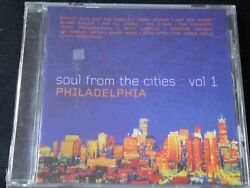 Various - Soul From The Cities Vol 1 Philadelphia NEW CD 1999 JERRY BUTLER O'JAY
