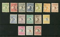 COMPLETE FIRST WM set of 15 mostly cancelled to order