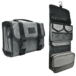 Hanging Toiletry Bag By Tailored Supply Co.  Travel Kit Organizer Case with ...
