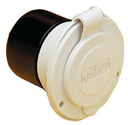 Afimarincoguestnicrobep 150BBIW 15a On-Board Charger Inlet-Wht