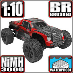 Redcat Racing Blackout XTE 1 10 Scale Electric 4WD Monster RC Truck Red NEW $149.99