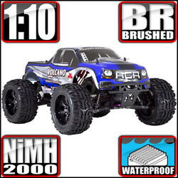Redcat Racing Volcano EPX 1:10 Electric Brushed 4WD Monster RC Truck Blue NEW $149.99