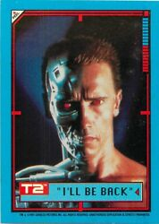 1991 IMPEL TERMINATOR 2 T2 JUDGEMENT DAY STICKER - PICK  CHOOSE YOUR CARDS