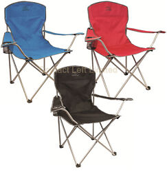 Camping Chair Folds Seat Beach Fishing Home Garden Outdoor Furniture + Carry Bag