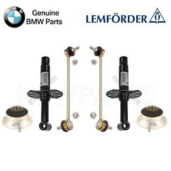 For BMW 3 Series E46 Set of 2 Front Sway Bar Links w Shock Mounts
