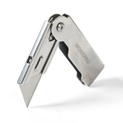 Compact Folding Utility Knife Lock Back pocket mini foldable QUICK CHANGE BLADE $9.94