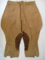 WWI US Army AEF Officer's Private Purchase Wool Trousers or Pants Sz 30