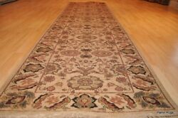 ON SALE 10 feet Long Hall Runner Top Quality Wool  Persian design Hand-made rug