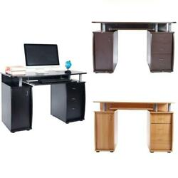 Computer Desk PC Laptop Table wDrawer Home Office Study Workstation 3 Colors $189.99