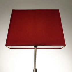 Postbox Red Table Lamp Shade in Rectangle Shape in 13 15 and 17 Inch Sizes GBP 24.99