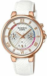 CASIO Sheen SHE-3041GLJ-7AJF Ladies Watch From Japan