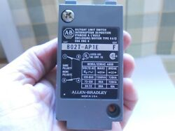 Allen Bradley Oil Tite Limit Switch 802T APIE Series F NO BACK $75.00