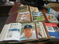 1954 - 2010 Run of Sports Illustrated with indexes & binders
