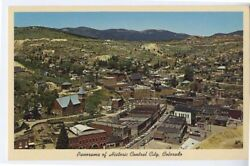 CENTRAL CITY CO early Aerial View #1 Mining Town postcard $1.99