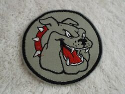 BULL DOG 4 3 4quot; Embroidery Iron on Patch E3 $5.86