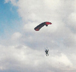 15 Inch Tall RC Parachutist Skydiver PlansTemplates and Instructions