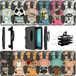 For LG Stylo 2 Plus LG Stylus 2 Plus Shockproof Dual Layer Case Cute Pets $9.99