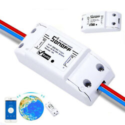 Sonoff ITEAD Smart WiFi Wireless Home Switch Module for Apple Android IOS