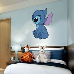 Stitch Lilo and stitch 3D Window Decal WALL STICKER Home Decor Art Mural