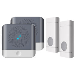 52 Song Wireless Doorbell Remote Control Receiver & Transmitter Battery Opetared