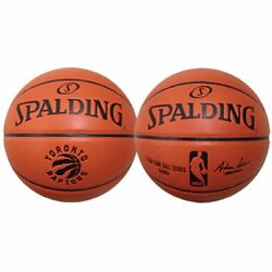 Spalding NBA Official Replica Full Size Game Ball Basketball Toronto Raptors $38.98