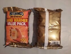 NEW HeatMax HotHands Hand & Body Warmers Value Pack 10-Pair Heat Max Hot Hands
