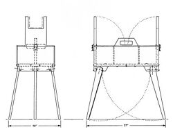 Handy Field Box And Stand Plans and Instructions