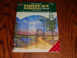 COTTAGE FIREPLACE SCREENS AND MORE BY CHRIS STOKES 1999 GARDEN TOLE PAINTING