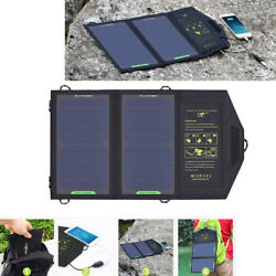 10W Solar Panel 5V 1.6A Output Solar Charger Portable Foldable Battery Charger $62.79