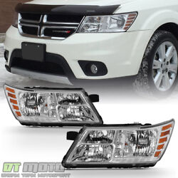 2009-2018 Dodge Journey Headlights Light Left+Right 09 10 11 12 13 14 15 16 17 $168.99
