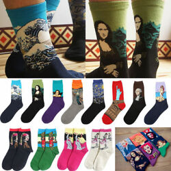 Fashion Famous Painting Art Socks Novelty Funny Novelty For Men Women Cool New C $4.94