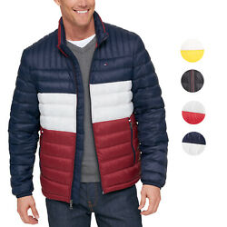 Tommy Hilfiger Men's Ultra Loft Insulated Packable Down Puffer Nylon Jacket
