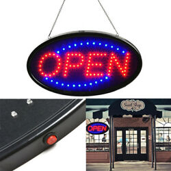 Ultra Bright LED Neon Light Animated Motion with ONOFF Store OPEN Business Sign